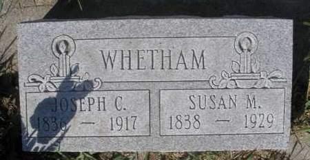 WHETHAM, JOSEPH C. - Boyd County, Nebraska   JOSEPH C. WHETHAM - Nebraska Gravestone Photos