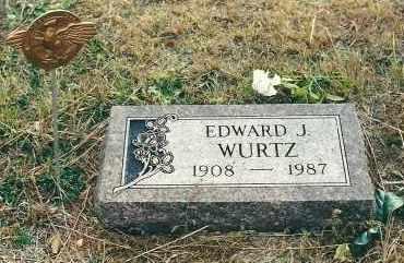 WURTZ, EDWARD - Boyd County, Nebraska | EDWARD WURTZ - Nebraska Gravestone Photos