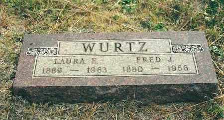 KING WURTZ, LAURA E - Boyd County, Nebraska | LAURA E KING WURTZ - Nebraska Gravestone Photos