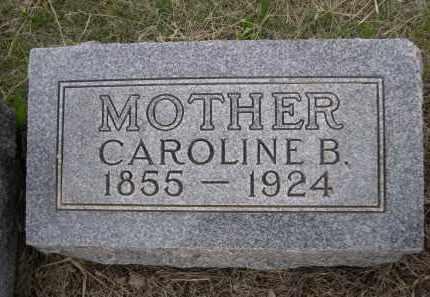 ZIECH, CAROLINE B. - Boyd County, Nebraska   CAROLINE B. ZIECH - Nebraska Gravestone Photos
