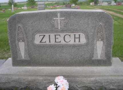 ZIECH, FAMILY - Boyd County, Nebraska | FAMILY ZIECH - Nebraska Gravestone Photos