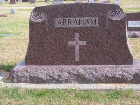 ABRAHAM, FAMILY - Brown County, Nebraska   FAMILY ABRAHAM - Nebraska Gravestone Photos