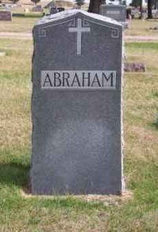 ABRAHAM, FAMILY - Brown County, Nebraska | FAMILY ABRAHAM - Nebraska Gravestone Photos