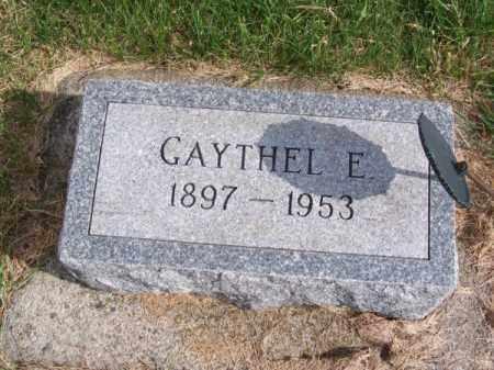 ABRAHAM, GAYTHEL E. - Brown County, Nebraska | GAYTHEL E. ABRAHAM - Nebraska Gravestone Photos