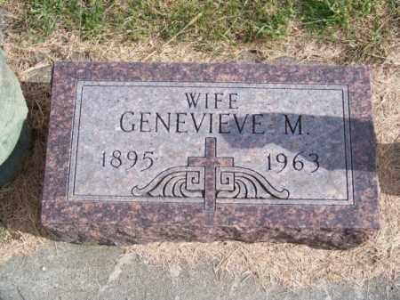 ABRAHAM, GENEVIEVE M. - Brown County, Nebraska | GENEVIEVE M. ABRAHAM - Nebraska Gravestone Photos