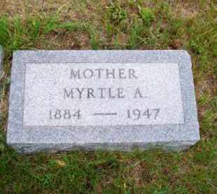 ADAMS, MYRTLE A. - Brown County, Nebraska | MYRTLE A. ADAMS - Nebraska Gravestone Photos