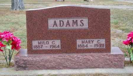 ADAMS, MILO C. - Brown County, Nebraska | MILO C. ADAMS - Nebraska Gravestone Photos