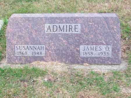 ADMIRE, JAMES O. - Brown County, Nebraska | JAMES O. ADMIRE - Nebraska Gravestone Photos