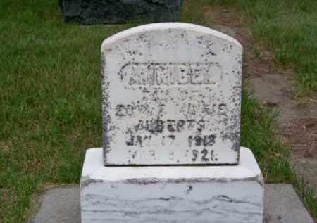 ALBERTS, ANNIBEL - Brown County, Nebraska   ANNIBEL ALBERTS - Nebraska Gravestone Photos