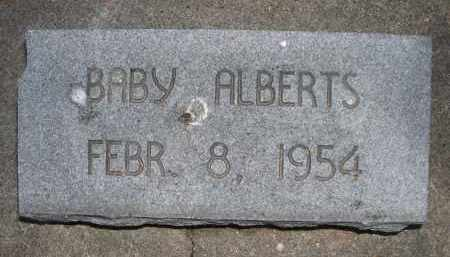 ALBERTS, BABY - Brown County, Nebraska | BABY ALBERTS - Nebraska Gravestone Photos