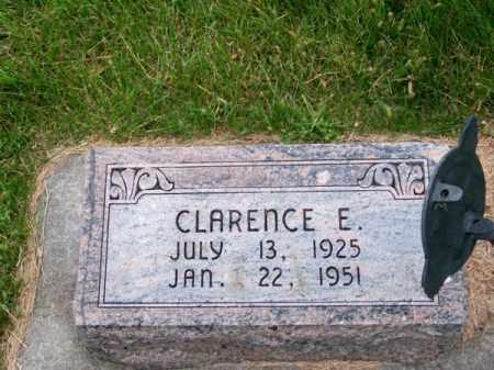 ALBERTS, CLARENCE E. - Brown County, Nebraska | CLARENCE E. ALBERTS - Nebraska Gravestone Photos