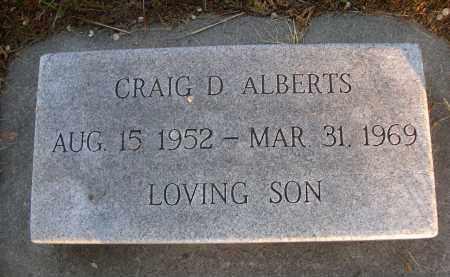 ALBERTS, CRAIG D. - Brown County, Nebraska | CRAIG D. ALBERTS - Nebraska Gravestone Photos