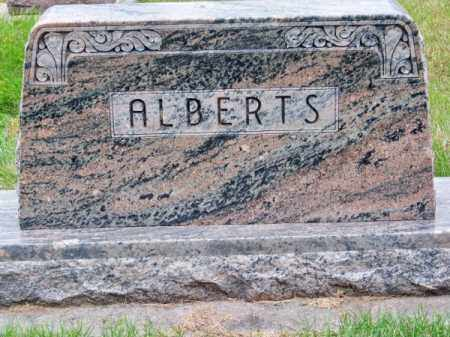 ALBERTS, FAMILY - Brown County, Nebraska | FAMILY ALBERTS - Nebraska Gravestone Photos