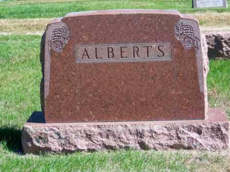 ALBERTS, FAMILY - Brown County, Nebraska | FAMILY ALBERTS - Nebraska Gravestone Photos