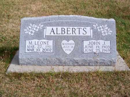 ALBERTS, M. LEONE - Brown County, Nebraska | M. LEONE ALBERTS - Nebraska Gravestone Photos
