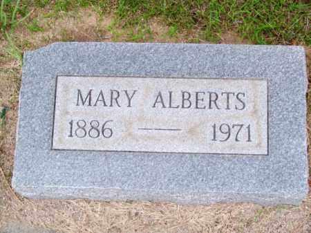 ALBERTS, MARY - Brown County, Nebraska   MARY ALBERTS - Nebraska Gravestone Photos