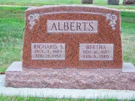 ALBERTS, BERTHA - Brown County, Nebraska | BERTHA ALBERTS - Nebraska Gravestone Photos