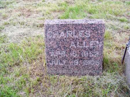 ALLEN, CHARLES - Brown County, Nebraska | CHARLES ALLEN - Nebraska Gravestone Photos