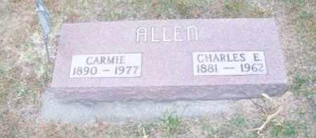 ALLEN, CARMIE - Brown County, Nebraska | CARMIE ALLEN - Nebraska Gravestone Photos