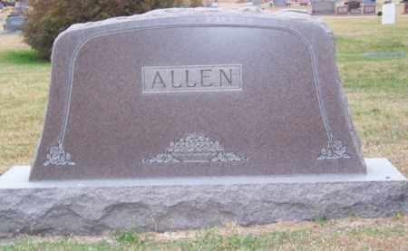 ALLEN, FAMILY - Brown County, Nebraska | FAMILY ALLEN - Nebraska Gravestone Photos