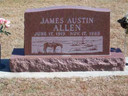 ALLEN, JAMES AUSTIN - Brown County, Nebraska   JAMES AUSTIN ALLEN - Nebraska Gravestone Photos