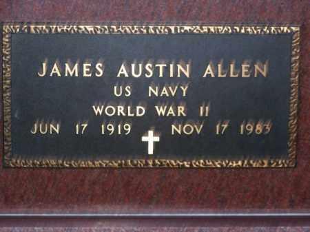 ALLEN, JAMES AUSTIN - Brown County, Nebraska | JAMES AUSTIN ALLEN - Nebraska Gravestone Photos