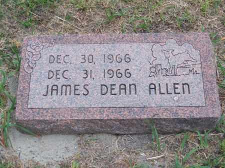 ALLEN, JAMES DEAN - Brown County, Nebraska | JAMES DEAN ALLEN - Nebraska Gravestone Photos