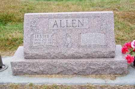 ALLEN, LESTER C. - Brown County, Nebraska   LESTER C. ALLEN - Nebraska Gravestone Photos