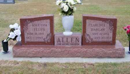 ALLEN, MARTHA ELLEN - Brown County, Nebraska | MARTHA ELLEN ALLEN - Nebraska Gravestone Photos