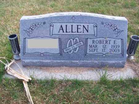 ALLEN, ROBERT E. - Brown County, Nebraska | ROBERT E. ALLEN - Nebraska Gravestone Photos