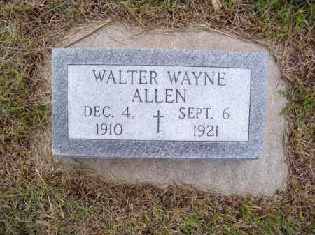 ALLEN, WALTER WAYNE - Brown County, Nebraska   WALTER WAYNE ALLEN - Nebraska Gravestone Photos