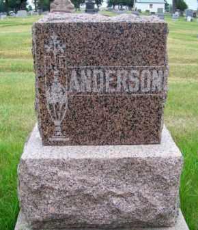 ANDERSON, FAMILY - Brown County, Nebraska   FAMILY ANDERSON - Nebraska Gravestone Photos