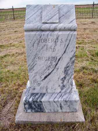ANDERSON, ROBERT S. - Brown County, Nebraska | ROBERT S. ANDERSON - Nebraska Gravestone Photos
