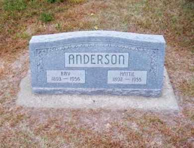 ANDERSON, RAY - Brown County, Nebraska | RAY ANDERSON - Nebraska Gravestone Photos