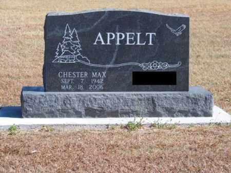 APPELT, CHESTER MAX - Brown County, Nebraska   CHESTER MAX APPELT - Nebraska Gravestone Photos
