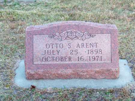 ARENT, OTTO S. - Brown County, Nebraska | OTTO S. ARENT - Nebraska Gravestone Photos