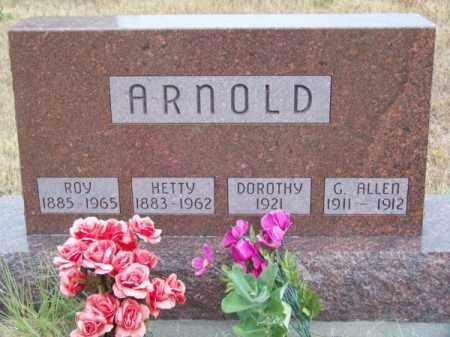 ARNOLD, ROY - Brown County, Nebraska | ROY ARNOLD - Nebraska Gravestone Photos