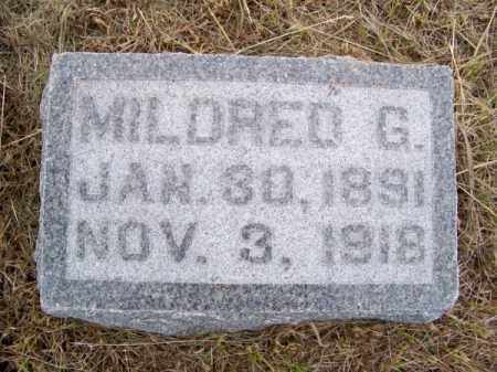 ASHBAUGH, MILDRED G. - Brown County, Nebraska | MILDRED G. ASHBAUGH - Nebraska Gravestone Photos