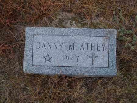ATHEY, DANNY M. - Brown County, Nebraska | DANNY M. ATHEY - Nebraska Gravestone Photos