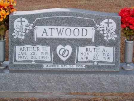 ATWOOD, RUTH A. - Brown County, Nebraska | RUTH A. ATWOOD - Nebraska Gravestone Photos