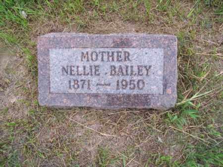 BAILEY, NELLIE - Brown County, Nebraska | NELLIE BAILEY - Nebraska Gravestone Photos