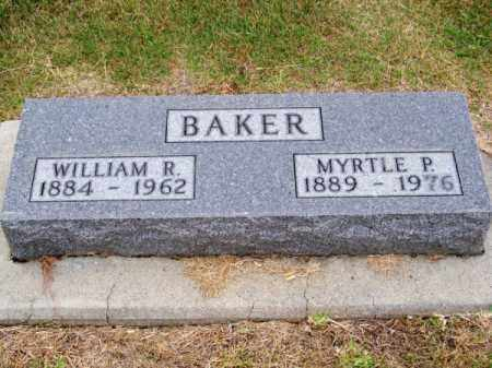 BAKER, WILLIAM R. - Brown County, Nebraska | WILLIAM R. BAKER - Nebraska Gravestone Photos