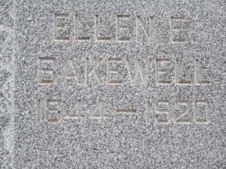 BAKEWELL, ELLEN E. - Brown County, Nebraska | ELLEN E. BAKEWELL - Nebraska Gravestone Photos