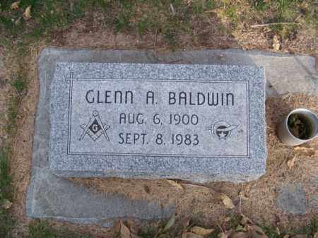 BALDWIN, GLENN A. - Brown County, Nebraska | GLENN A. BALDWIN - Nebraska Gravestone Photos