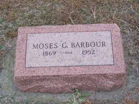 BARBOUR, MOSES G. - Brown County, Nebraska | MOSES G. BARBOUR - Nebraska Gravestone Photos