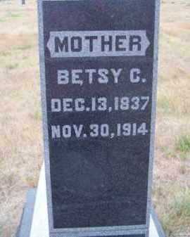 BARNES, BETSY C. - Brown County, Nebraska   BETSY C. BARNES - Nebraska Gravestone Photos