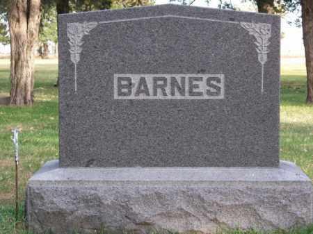 BARNES, FAMILY - Brown County, Nebraska | FAMILY BARNES - Nebraska Gravestone Photos