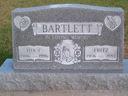 BARTLETT, IDA E. - Brown County, Nebraska | IDA E. BARTLETT - Nebraska Gravestone Photos