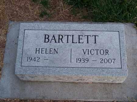 BARTLETT, VICTOR - Brown County, Nebraska | VICTOR BARTLETT - Nebraska Gravestone Photos