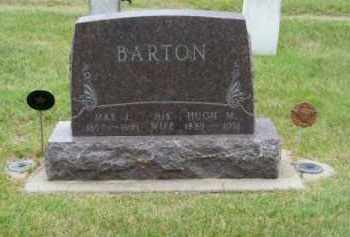 BARTON, HUGH M. - Brown County, Nebraska | HUGH M. BARTON - Nebraska Gravestone Photos